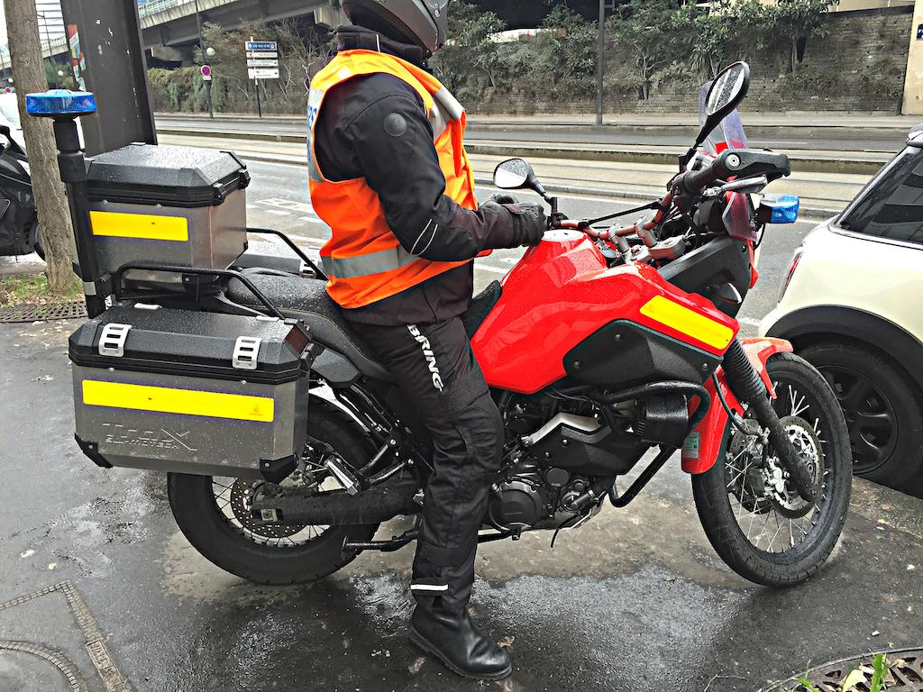 Moto Pompier 2